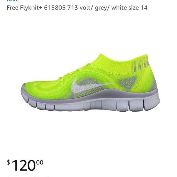 new arrivals d2ebd cb5aa Nike Free Flyknit+ Volt 😎. M 5b58b450f303697fab24bbf0